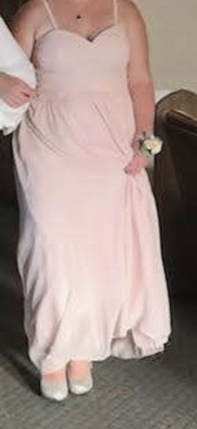 Pink Size 18 Straight Dress on Queenly