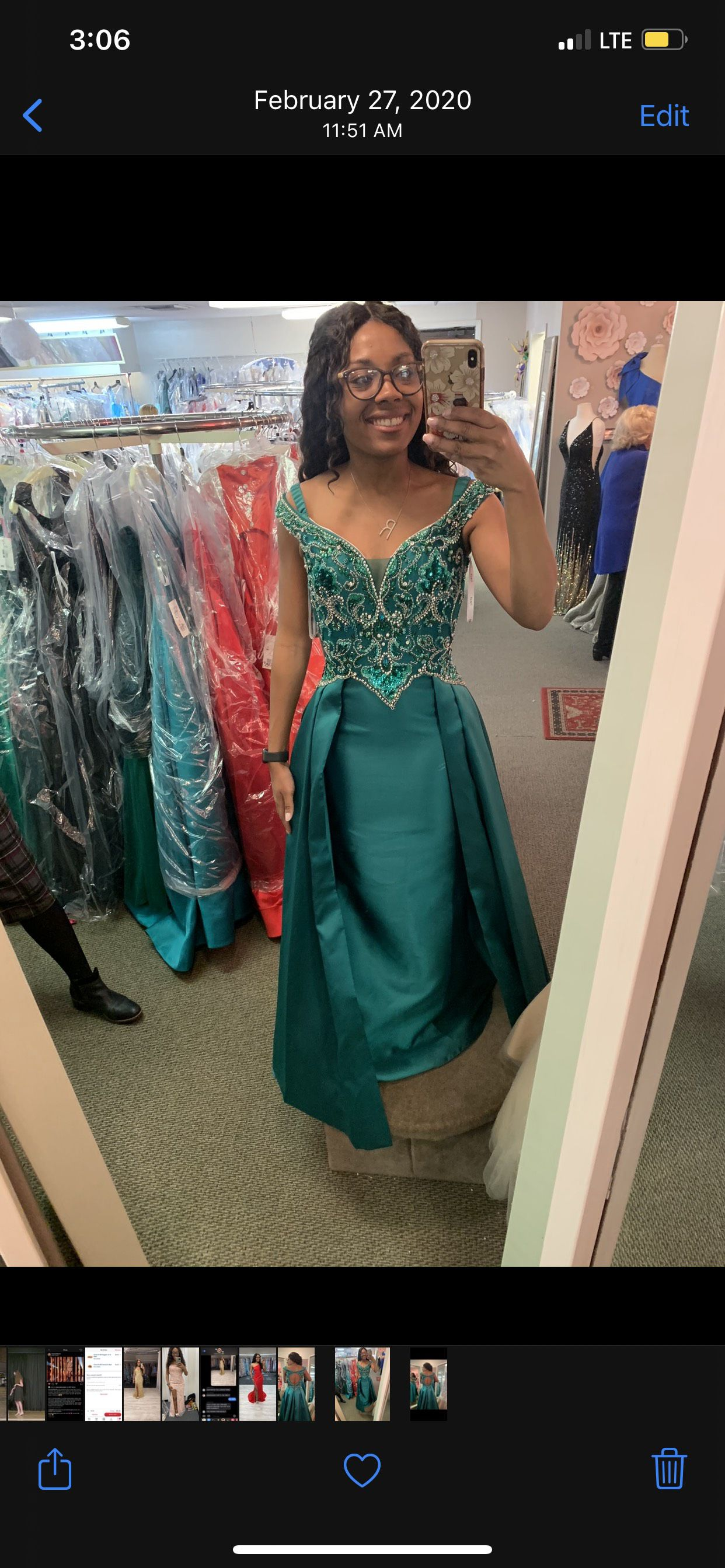 Panoply Green Size 4 Cape Pageant A-line Dress on Queenly