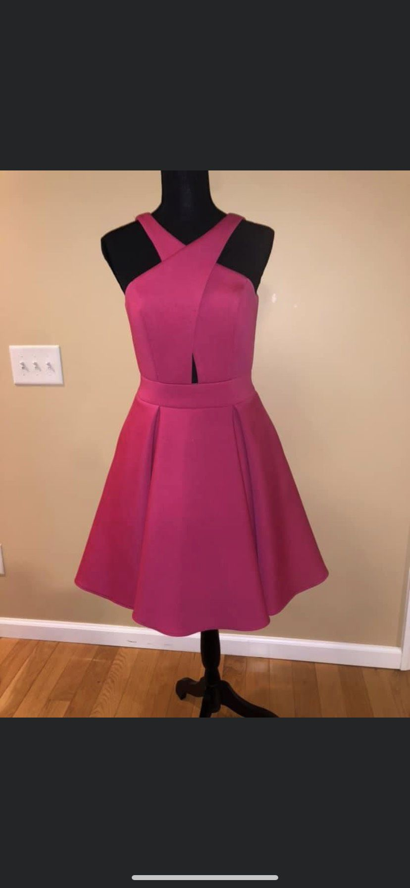 Rachel Allan Pink Size 6 Homecoming Interview Cocktail Dress on Queenly