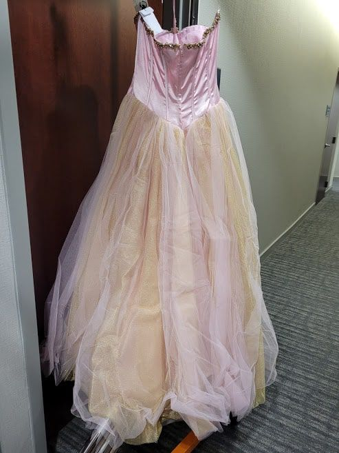 Style 3255 Jovani Pink Size 10 Sweetheart Tall Height A-line Dress on Queenly