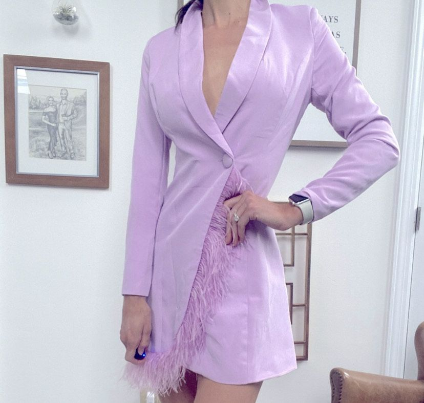 Purple Size 2 Cocktail Dress on Queenly