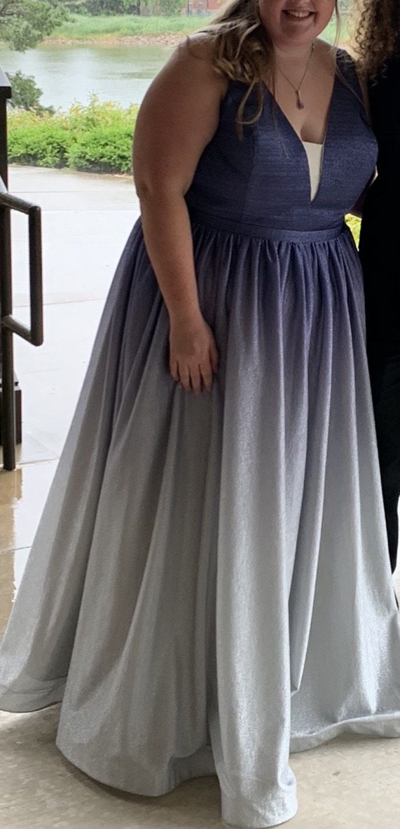 Tease Prom Purple Size 24 Prom Ball gown on Queenly