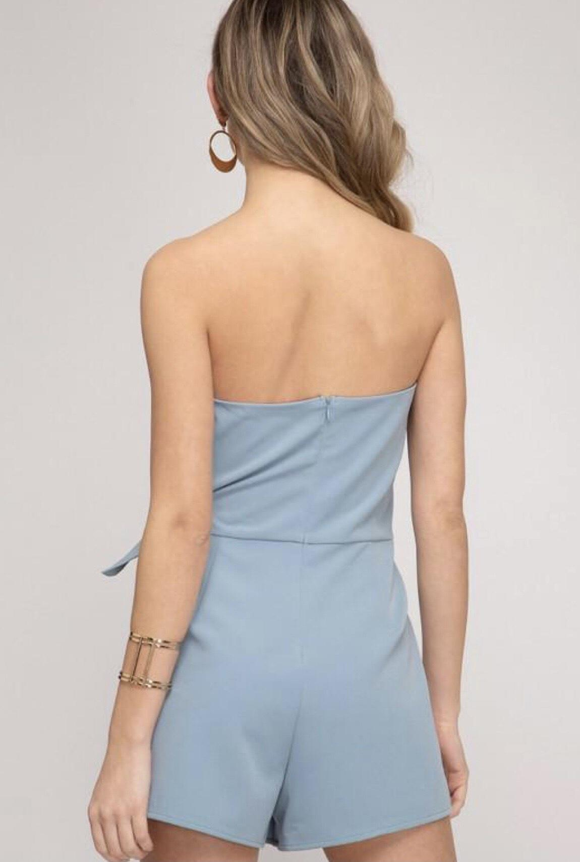 Blue Size 4 Jumpsuit Dress on Queenly