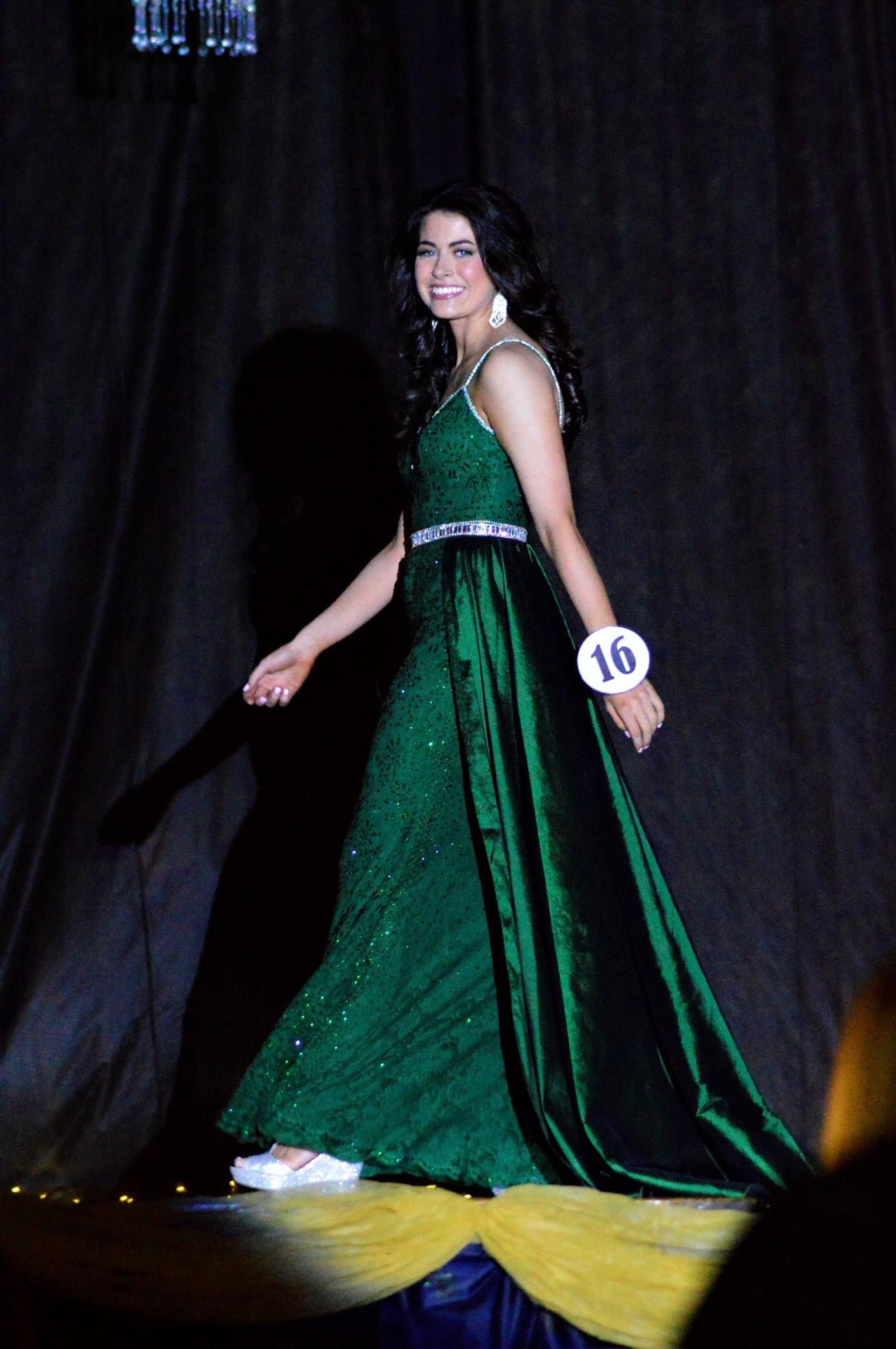 Johnathan Kayne Green Size 4 Tall Height Train Dress on Queenly