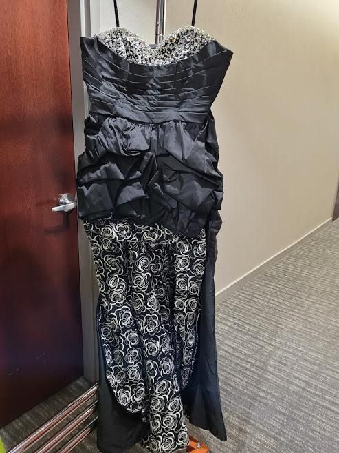 Style 91018 Mori Lee Black Size 22 Sweetheart Plus Size Tall Height A-line Dress on Queenly