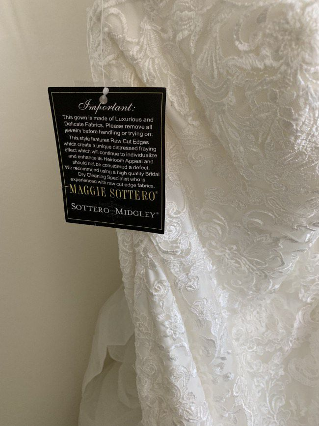 White Size 8 Mermaid Dress on Queenly