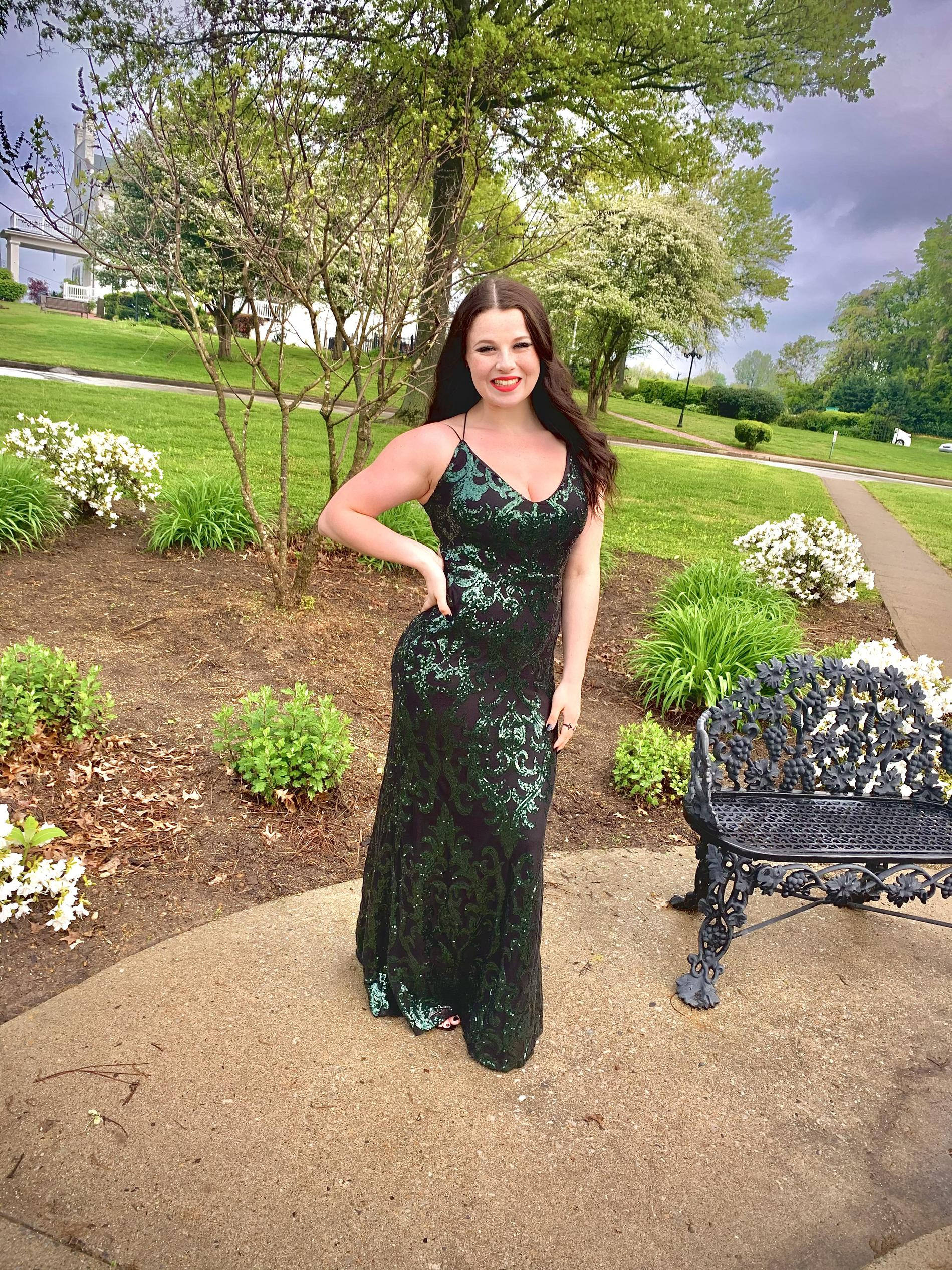 Windsor Multicolor Size 6 Prom Mini Mermaid Dress on Queenly