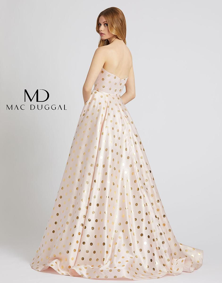 Style 67093L Mac Duggal Pink Size 0 Prom Tall Height Ball gown on Queenly