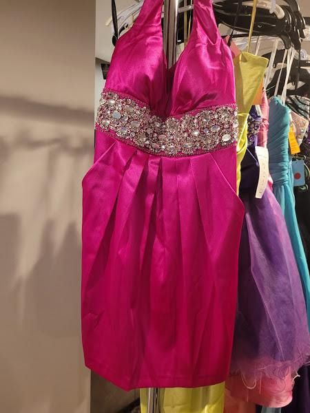 Style 27X7212 Josh And Jazz Prom Pink Size 12 Tall Height Cocktail Dress on Queenly