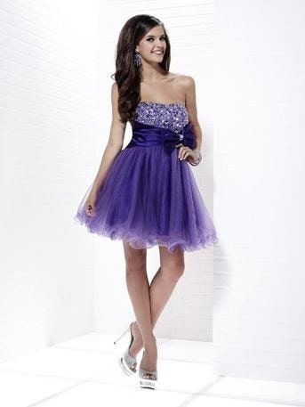 Style 46793 Tiffany Designs Purple Size 12 Plus Size Tall Height Cocktail Dress on Queenly
