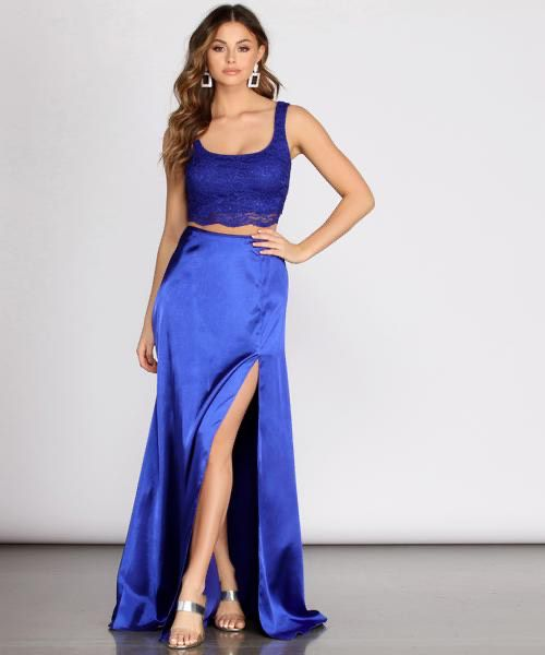 Windsor Blue Size 8 Straight Dress on Queenly