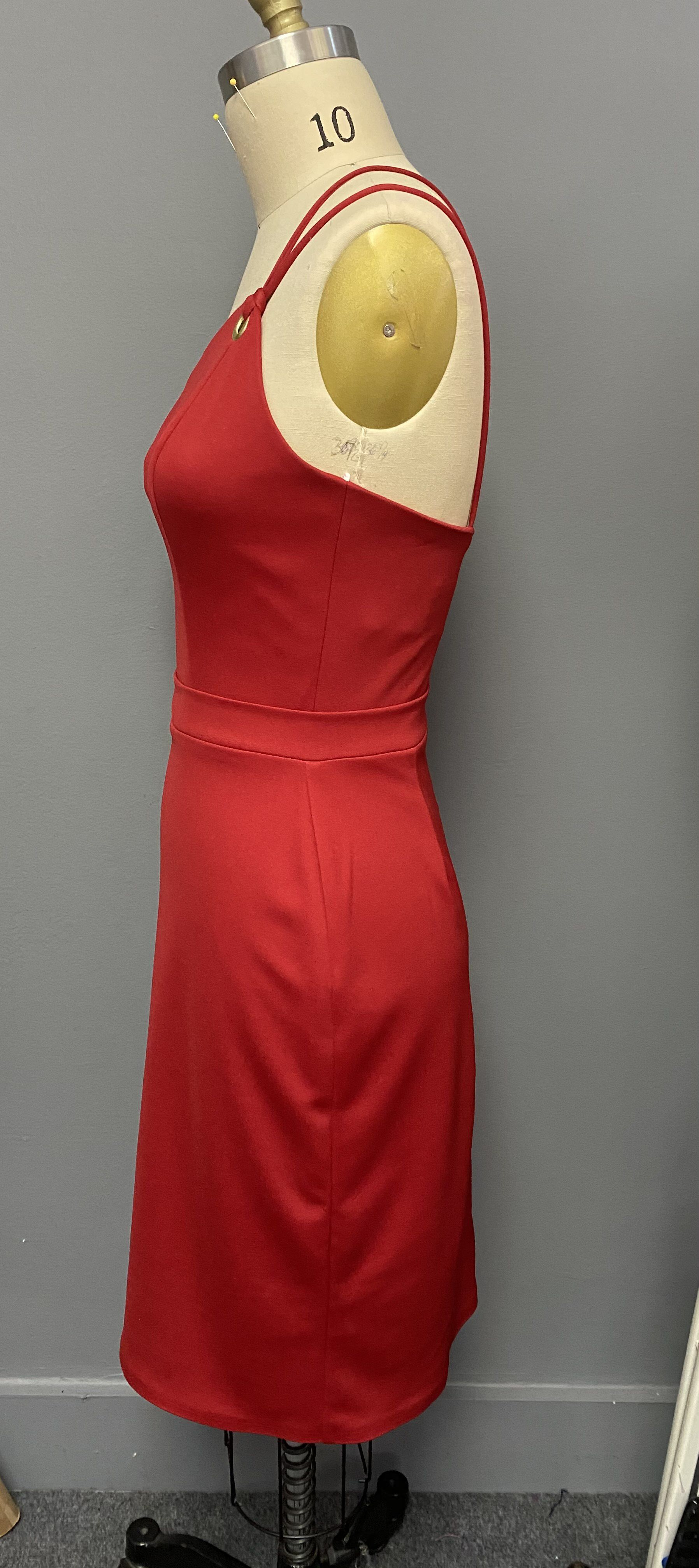 Fernando Wong Red Size 6 Cocktail Dress on Queenly