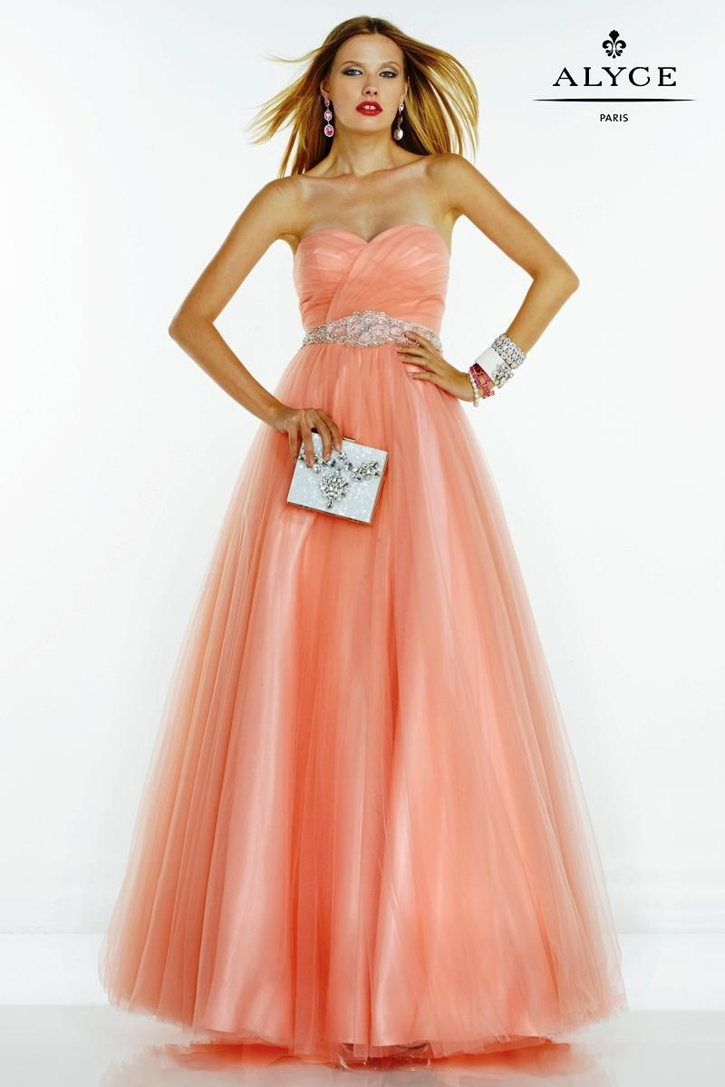 Style 1075 Alyce Paris Orange Size 18 Bridesmaid Prom Plus Size A-line Dress on Queenly