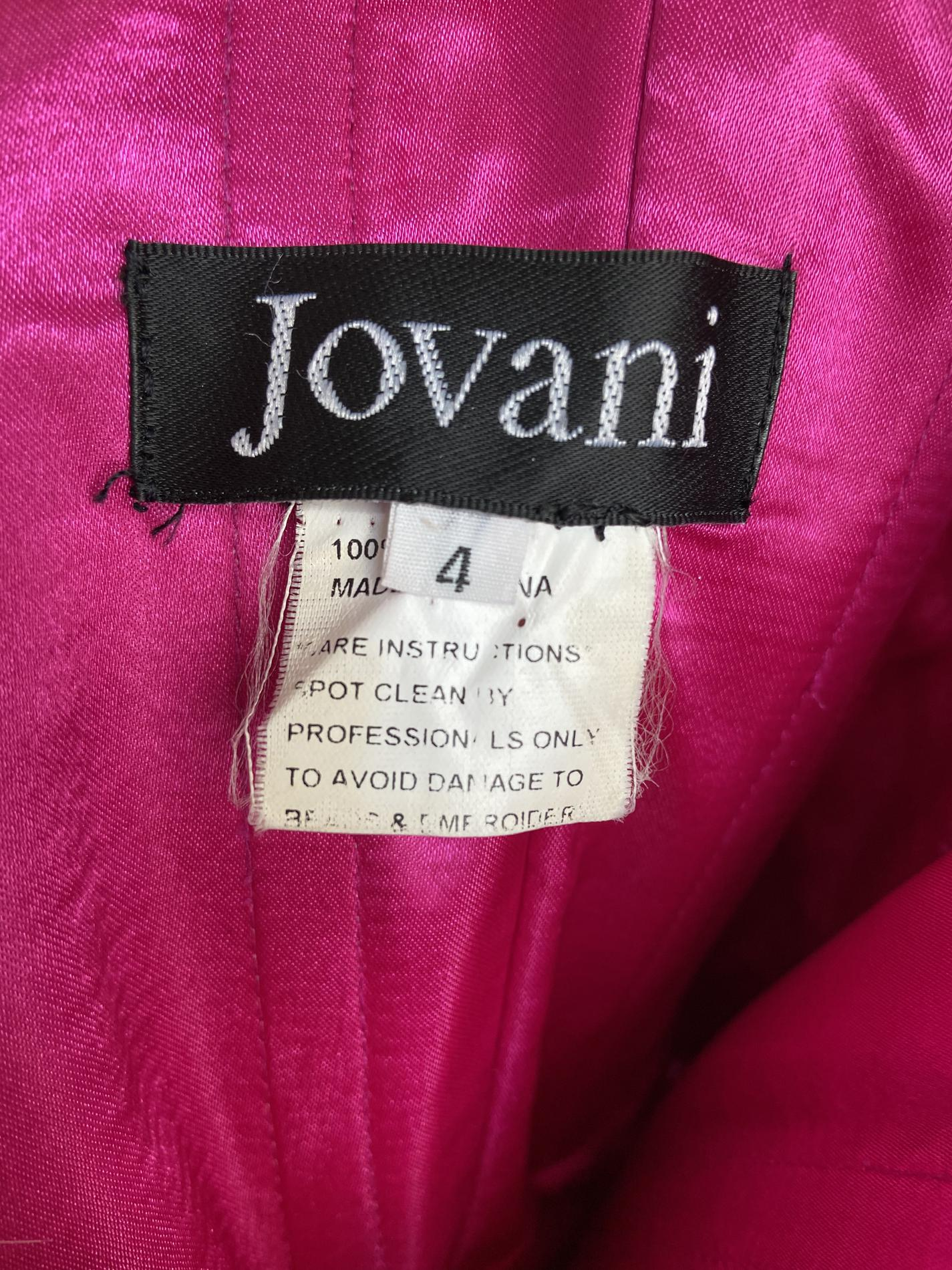 Jovani  Pink Size 4 Pageant A-line Dress on Queenly