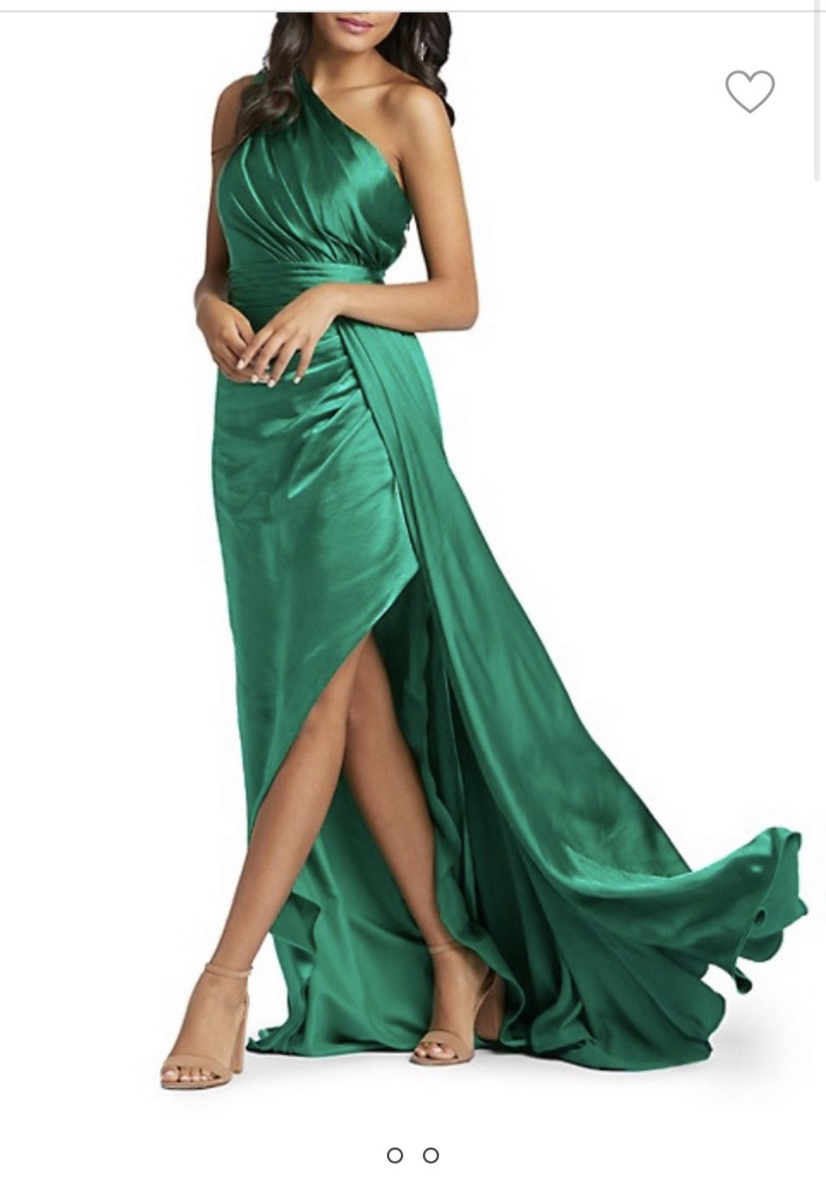 Green Size 6 Straight Dress on Queenly