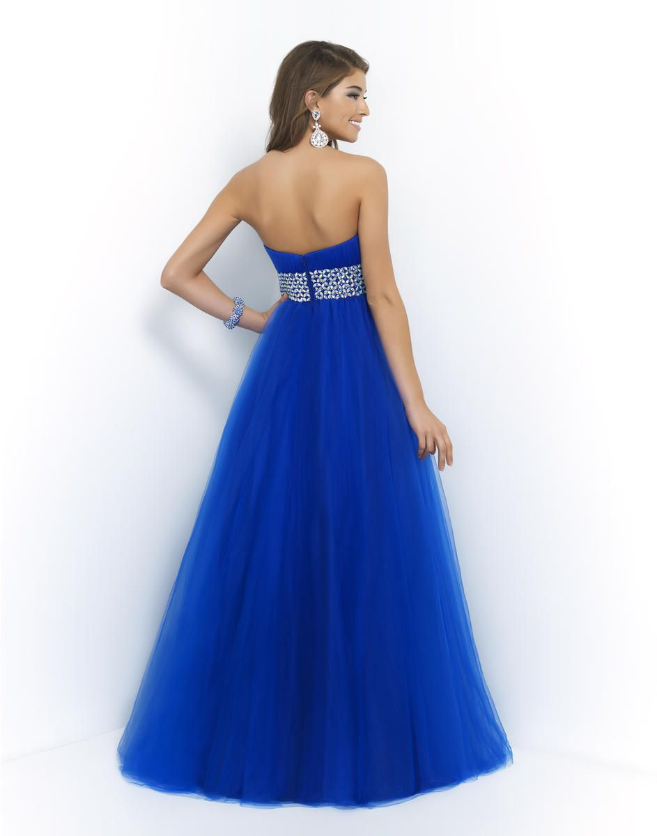 Style 5407 Blush Prom Blue Size 12 Pageant Quinceanera Plus Size Tall Height Ball gown on Queenly