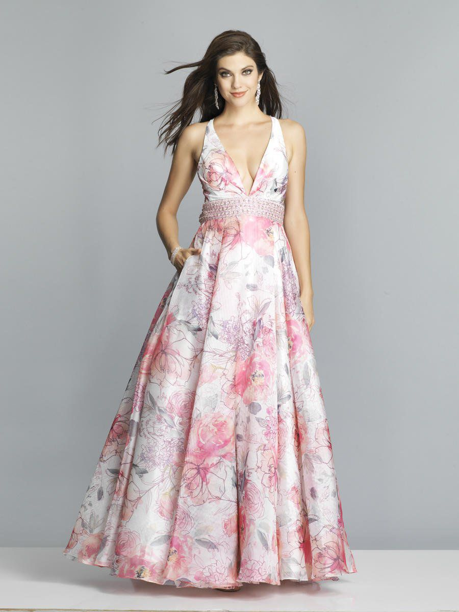 Style A7527 Dave & Johnny Pink Size 10 Halter Tall Height Wedding Guest A-line Dress on Queenly
