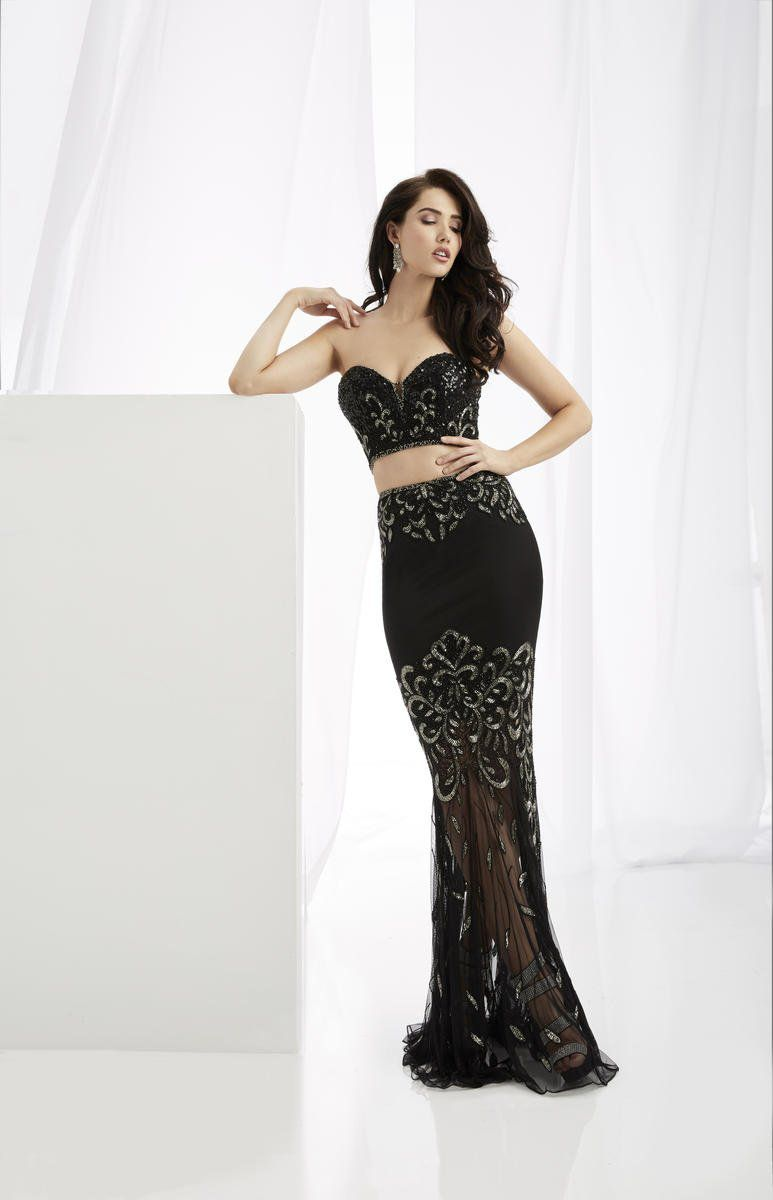 Style 1361 Jasz Couture Black Size 00 Pageant Sweetheart Sorority Formal Tall Height Mermaid Dress on Queenly
