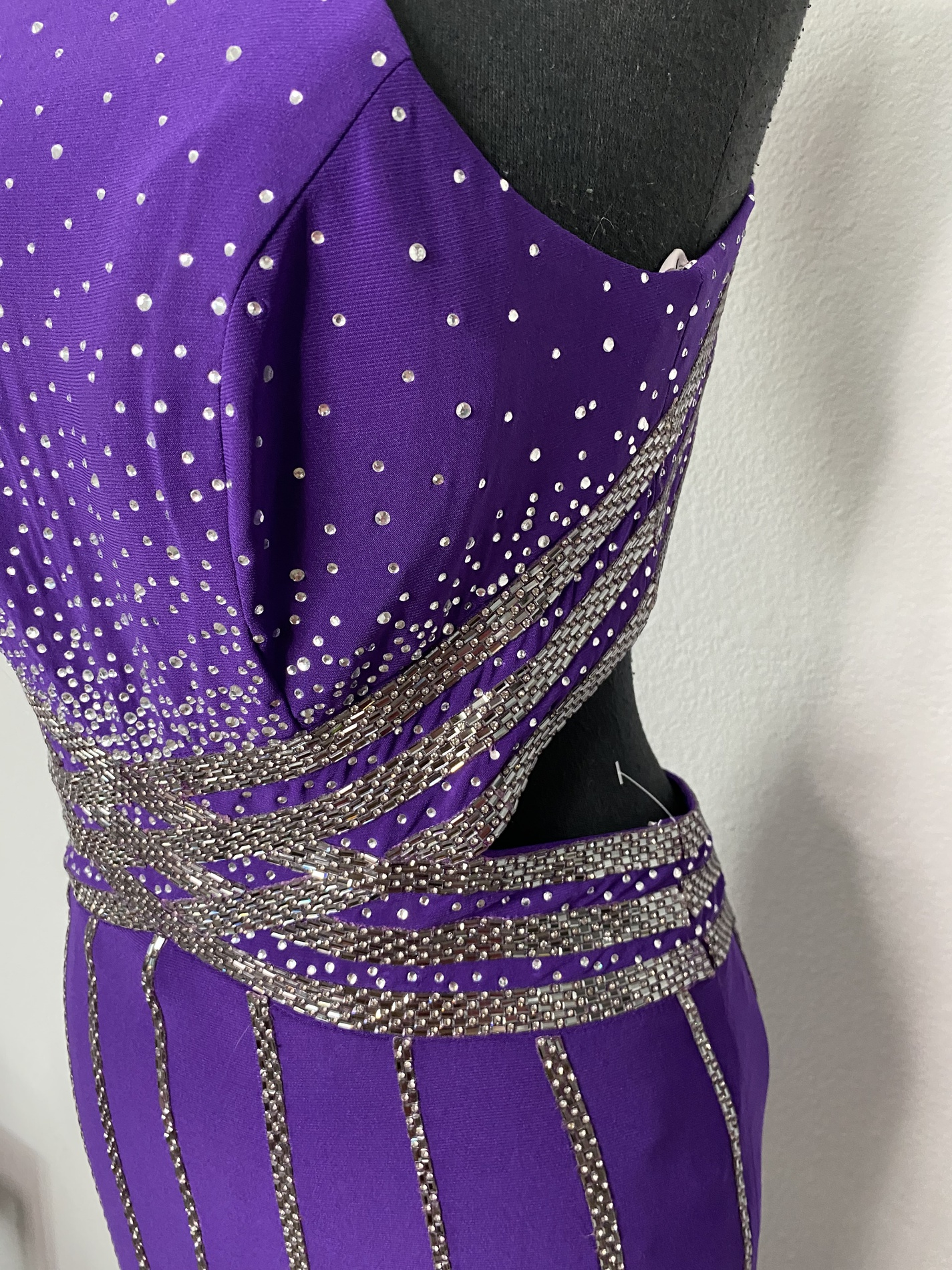 Blush Purple Size 8 Prom Backless Straight Dress on Queenly