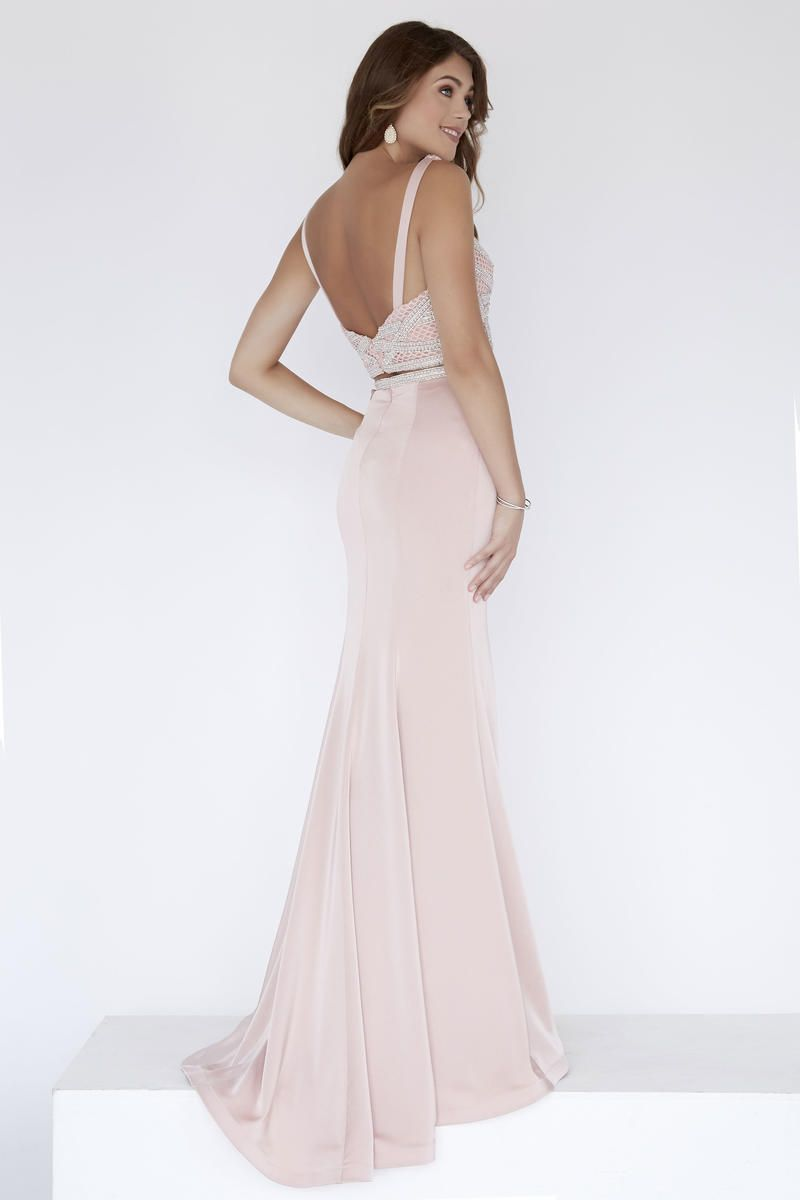 Style 18109 Jolene Pink Size 00 Sorority Formal Tall Height Wedding Guest Mermaid Dress on Queenly
