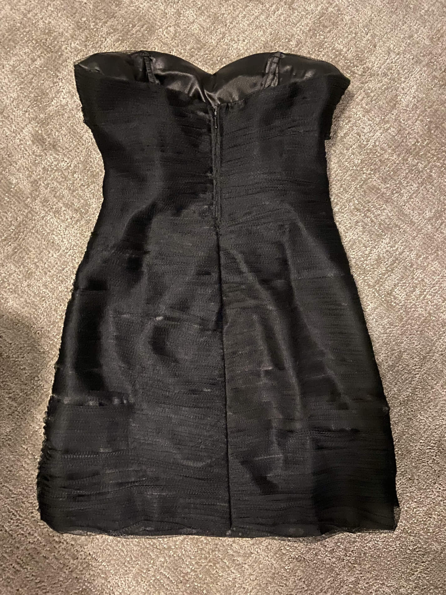 Alyce Paris Black Size 4 Jewelled Mini Cocktail Dress on Queenly