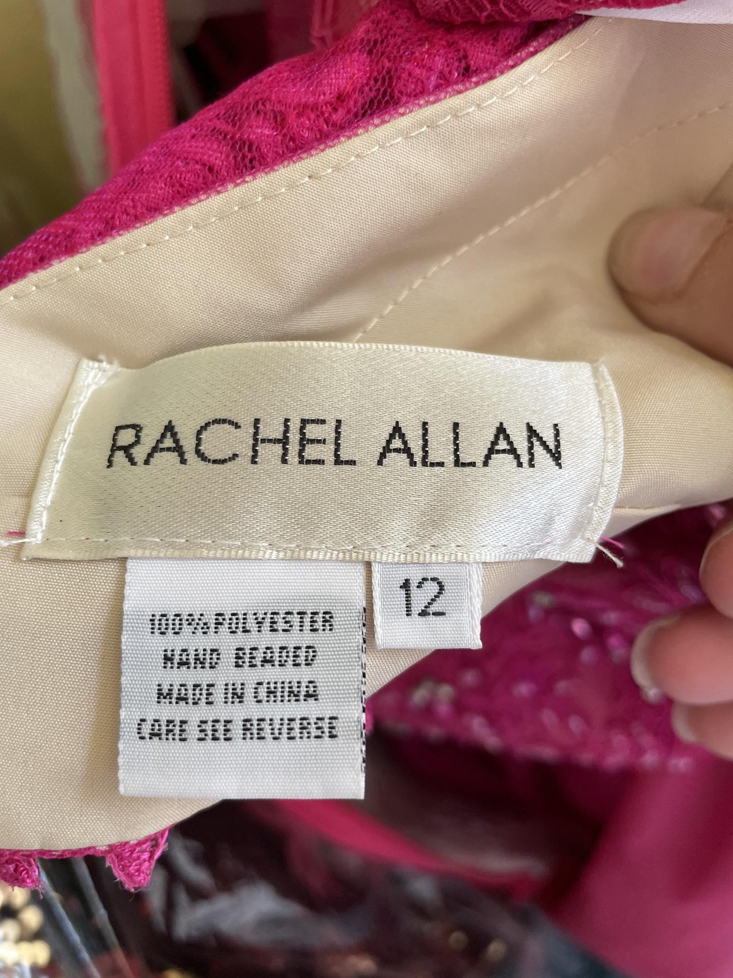 Rachel Allan Pink Size 12 Pageant Halter Mermaid Dress on Queenly