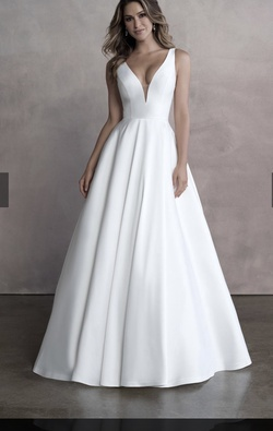 Allure Bridal White Size 12 Wedding Plus Size Ball gown on Queenly