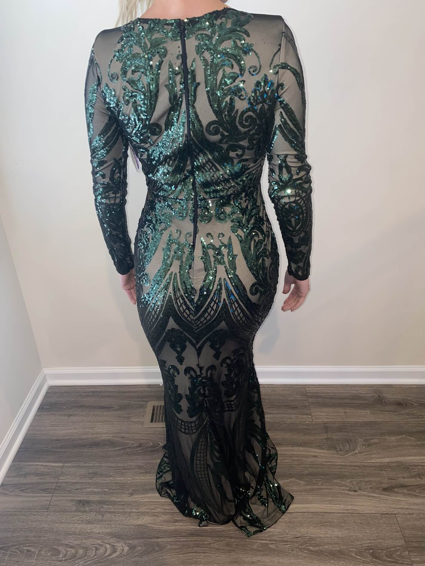 Windsor Green Size 4 Mermaid Dress on Queenly