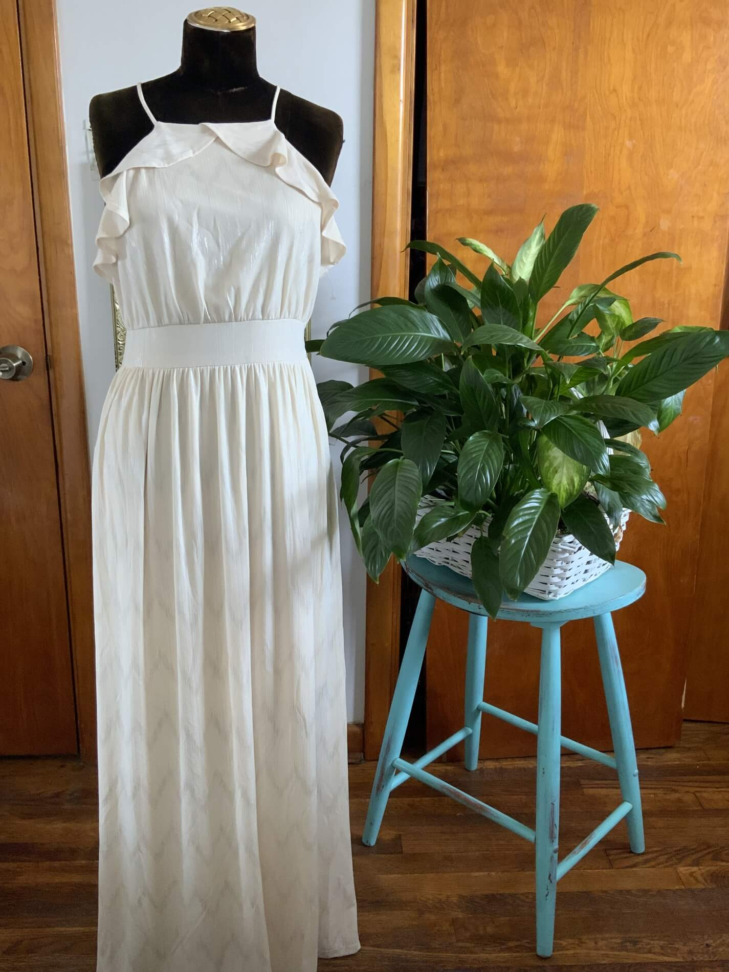 altar d state Nude Size 8 A-line Dress on Queenly