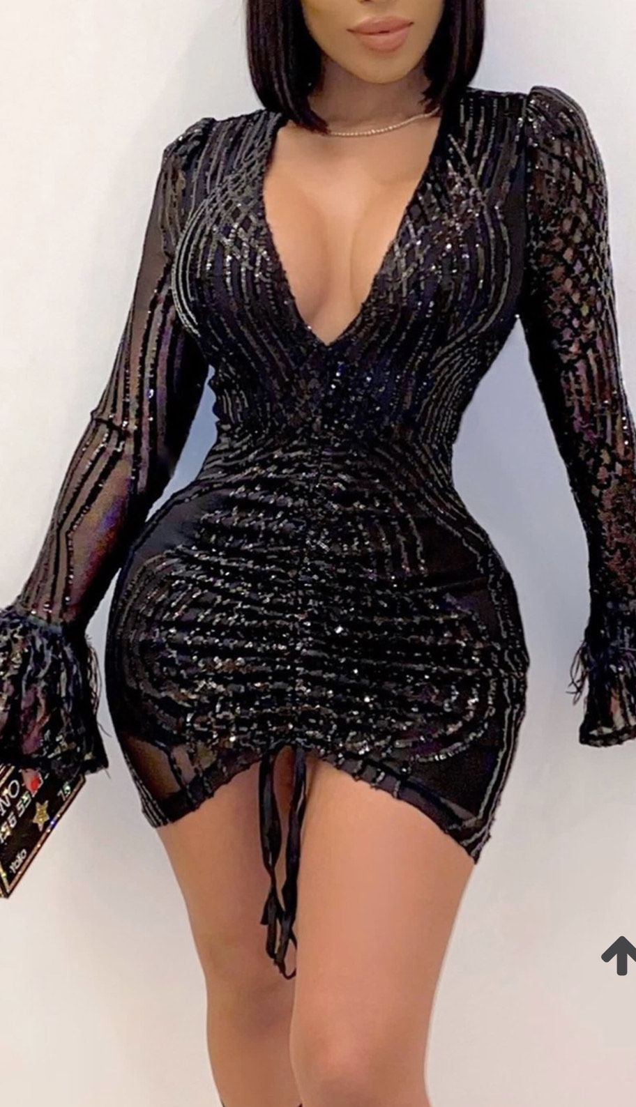 Black Size 18 Cocktail Dress on Queenly