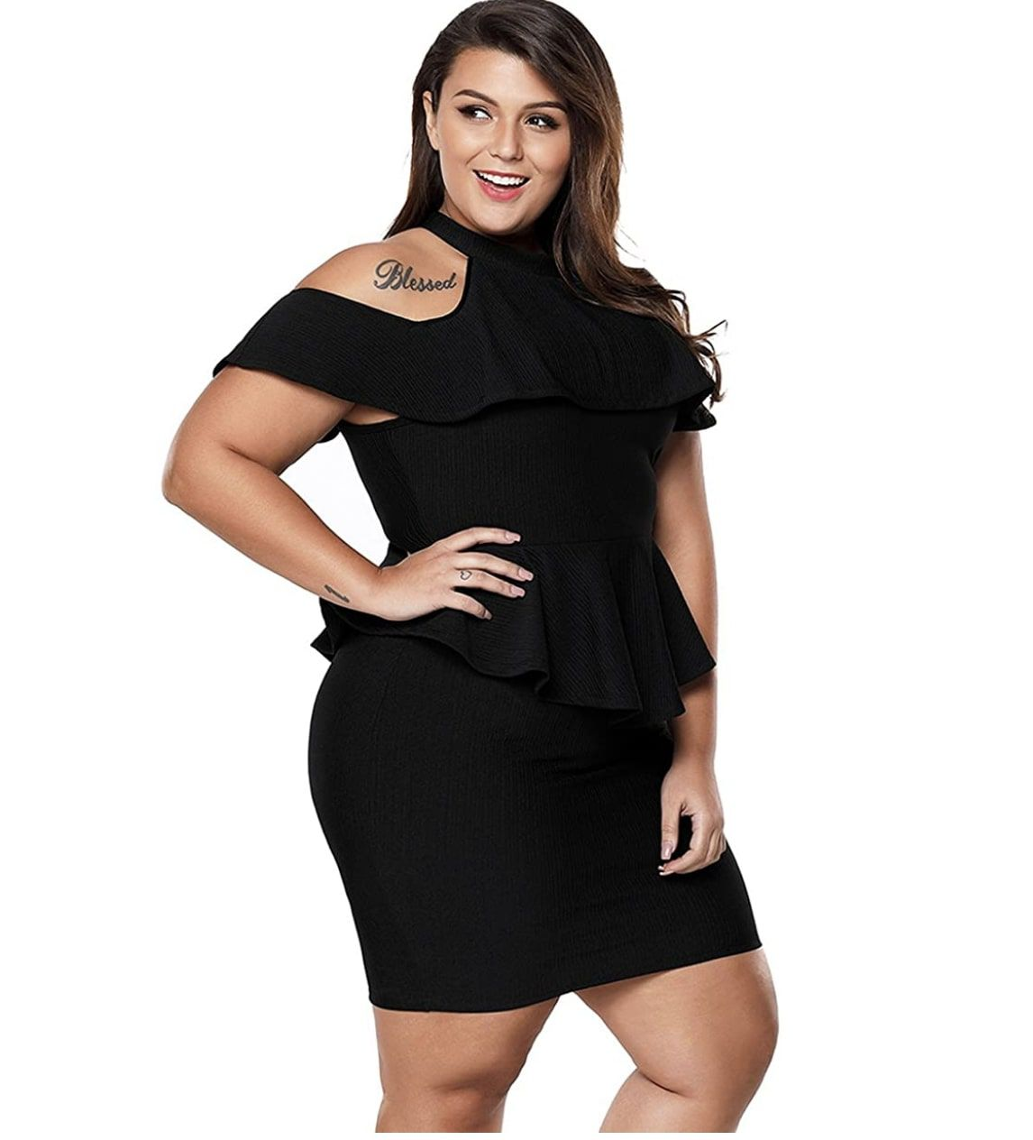 Style B07BPSZ3DL Lalagen Black Size 20 Homecoming Mini Tall Height Wedding Guest Cocktail Dress on Queenly