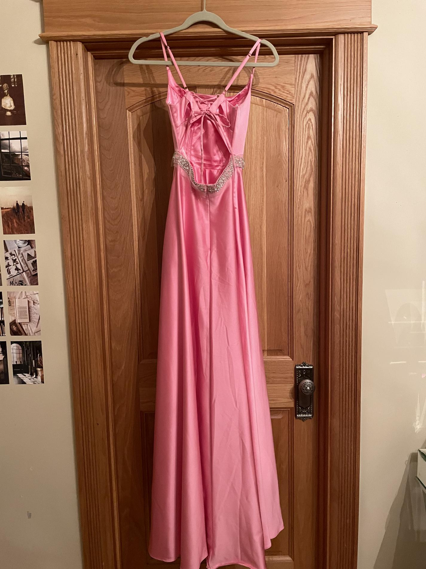 Pink Size 00 Ball gown on Queenly