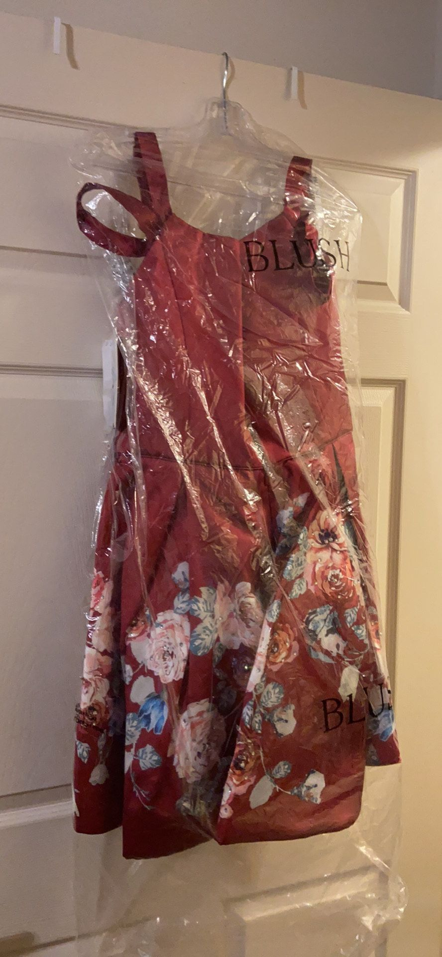 Blush Multicolor Size 18 Flare Green Cocktail Dress on Queenly