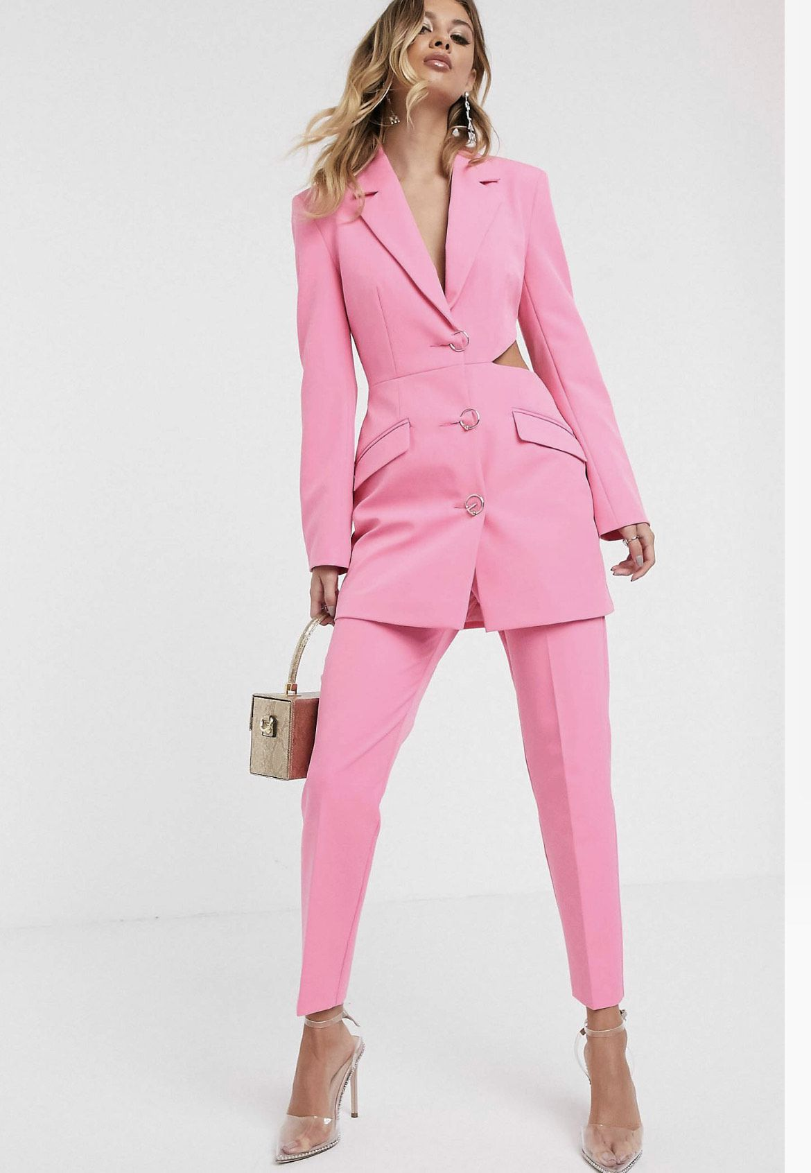 Pink Size 8 Jumpsuit Dress on Queenly