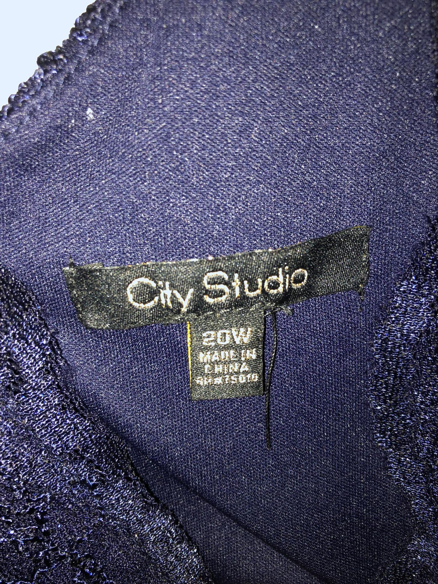 City studio Multicolor Size 20 Floral A-line Dress on Queenly
