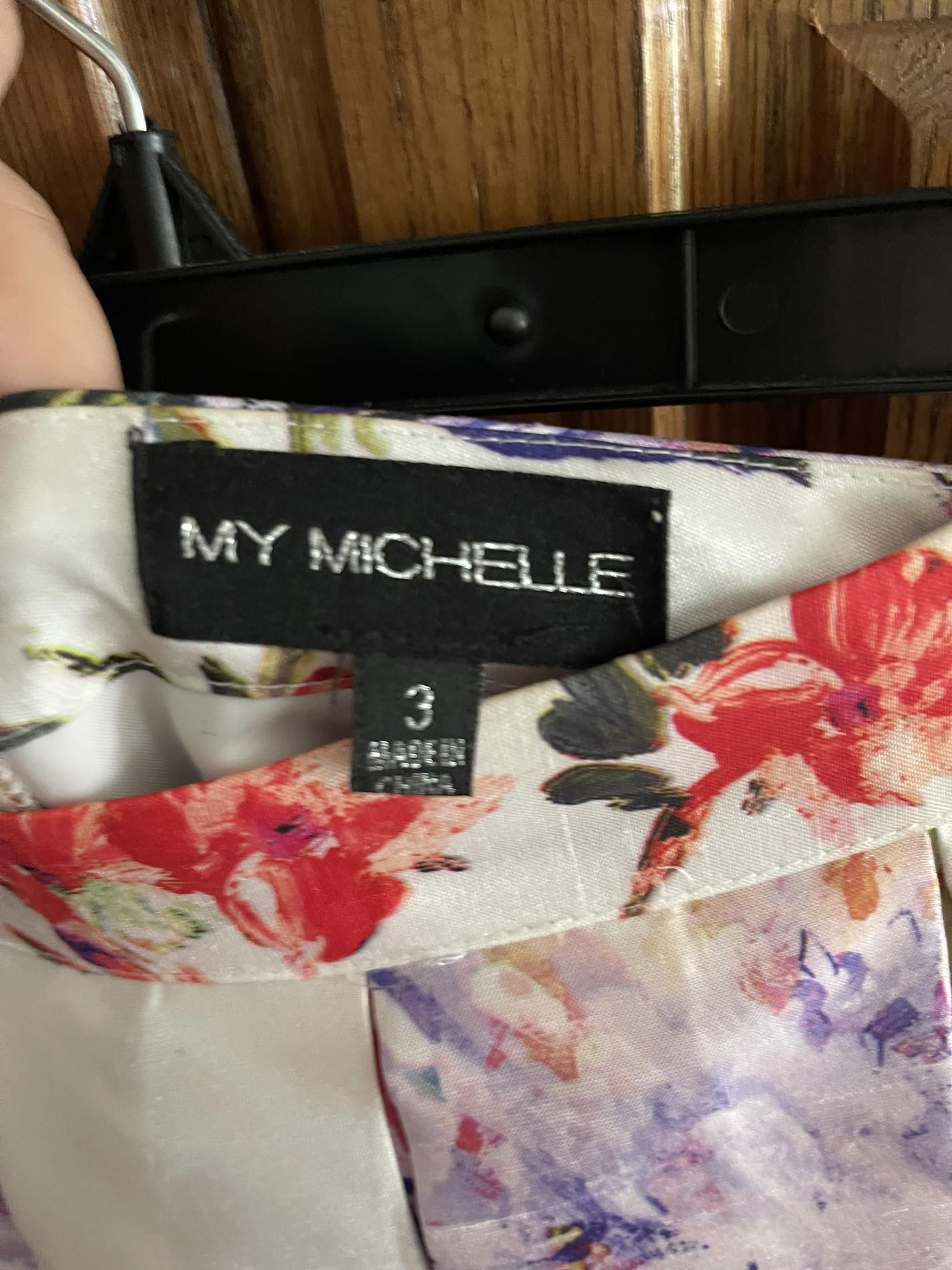 My Michelle Multicolor Size 2 Floral Train Dress on Queenly