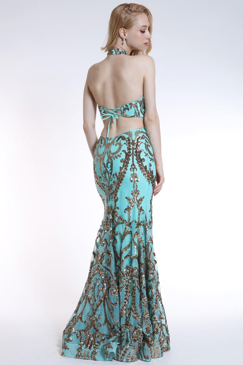 Style 35761 Ava Presley Green Size 0 Corset Tall Height Side slit Dress on Queenly