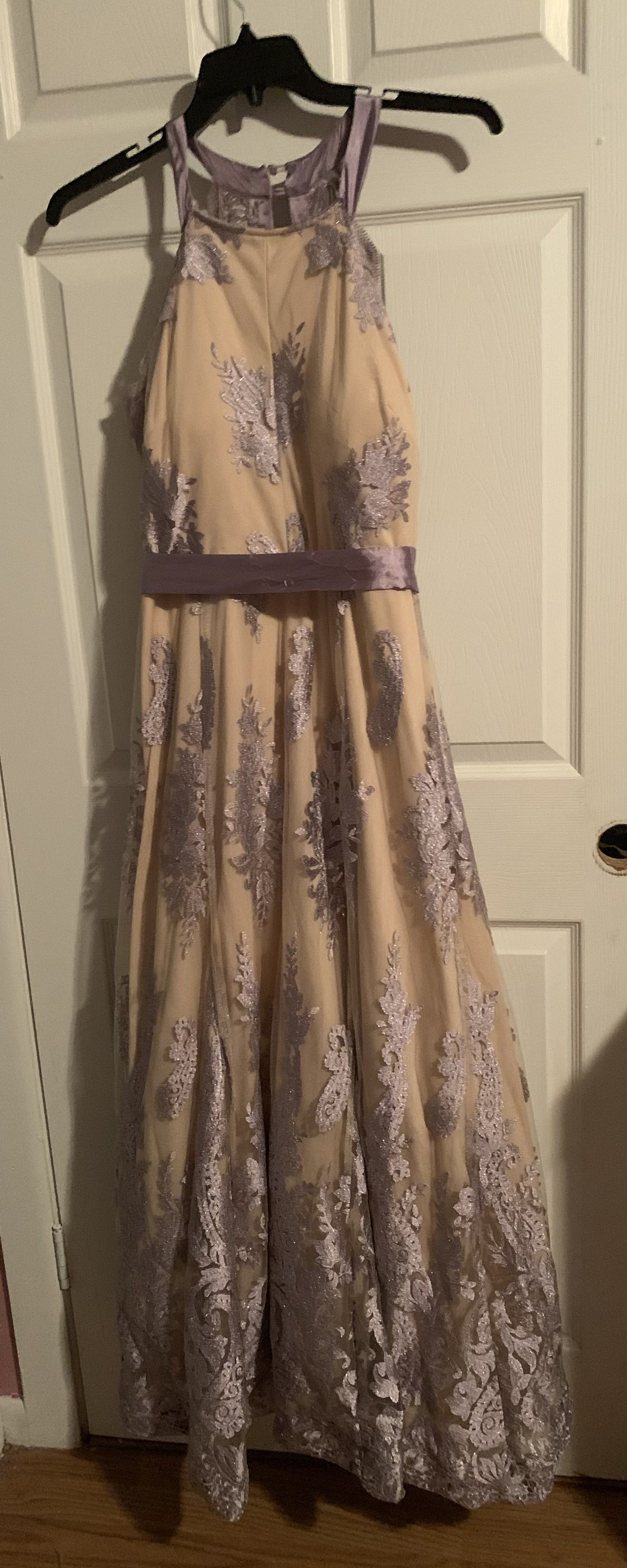 Nude Size 14 A-line Dress on Queenly