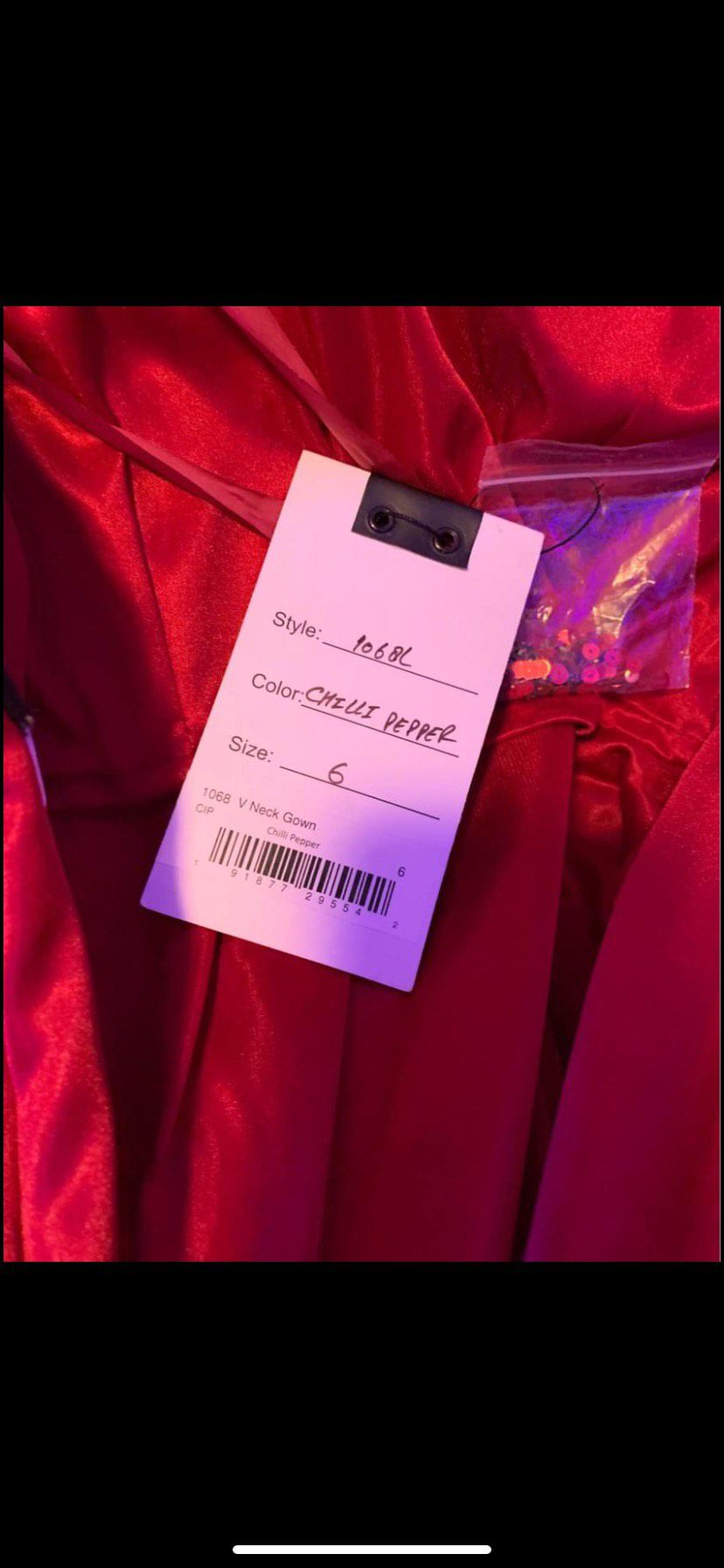 Mac Duggal Red Size 6 Prom Fully-beaded Side slit Dress on Queenly