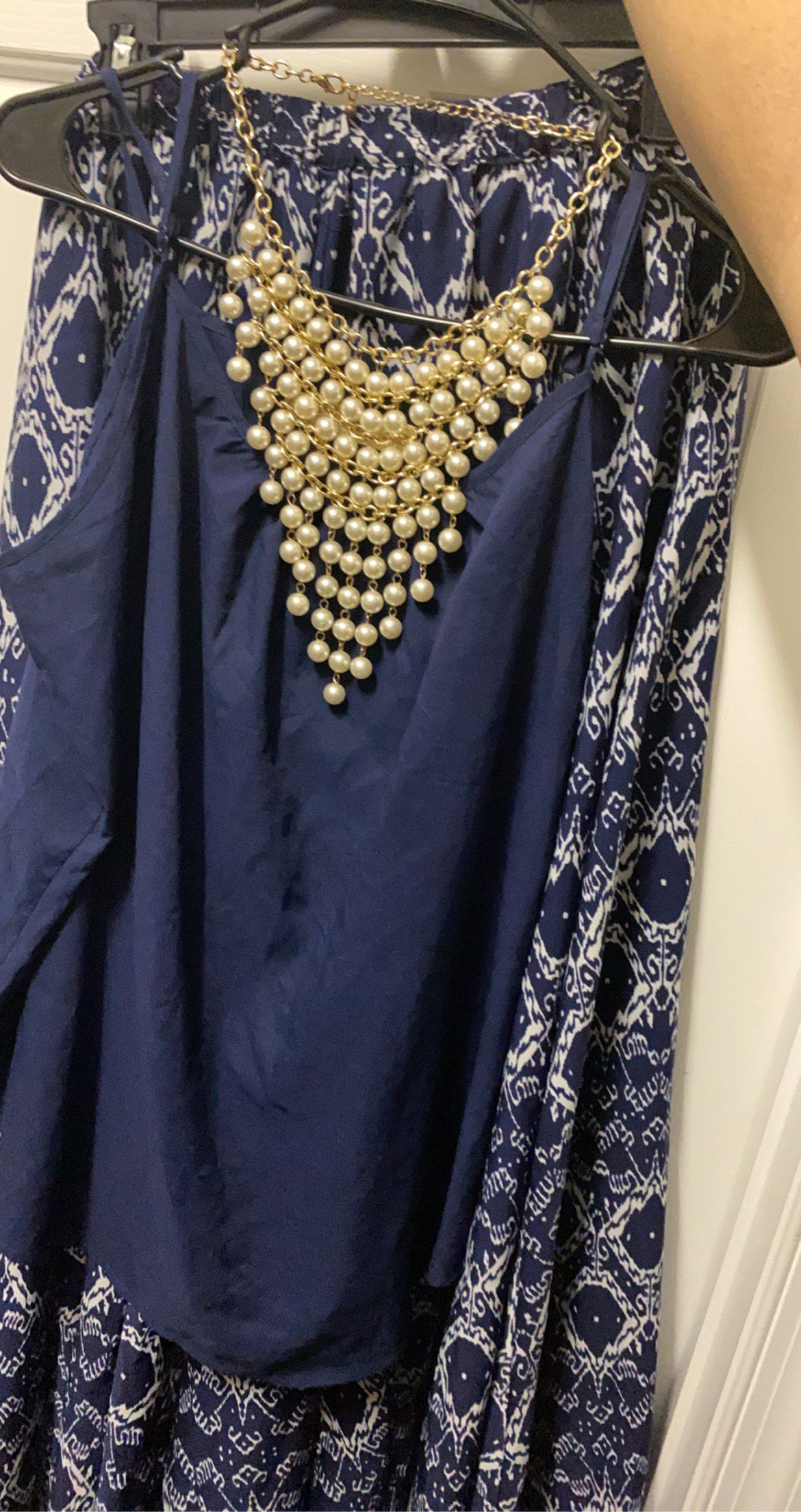 Blue Size 18 A-line Dress on Queenly