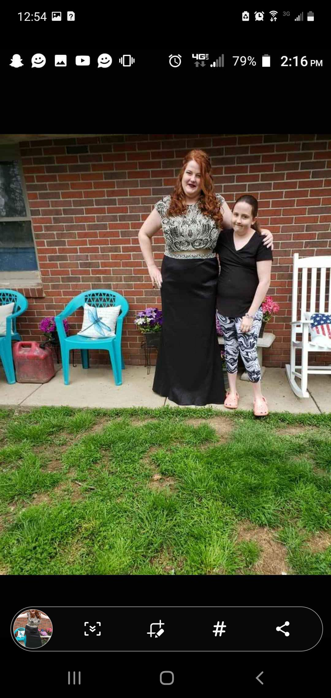 Black Size 18 Straight Dress on Queenly