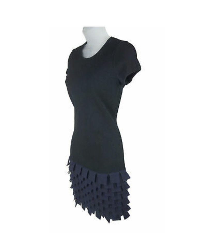 Chanel Black Size 4 Sorority Formal Polyester Mini Interview Cocktail Dress on Queenly