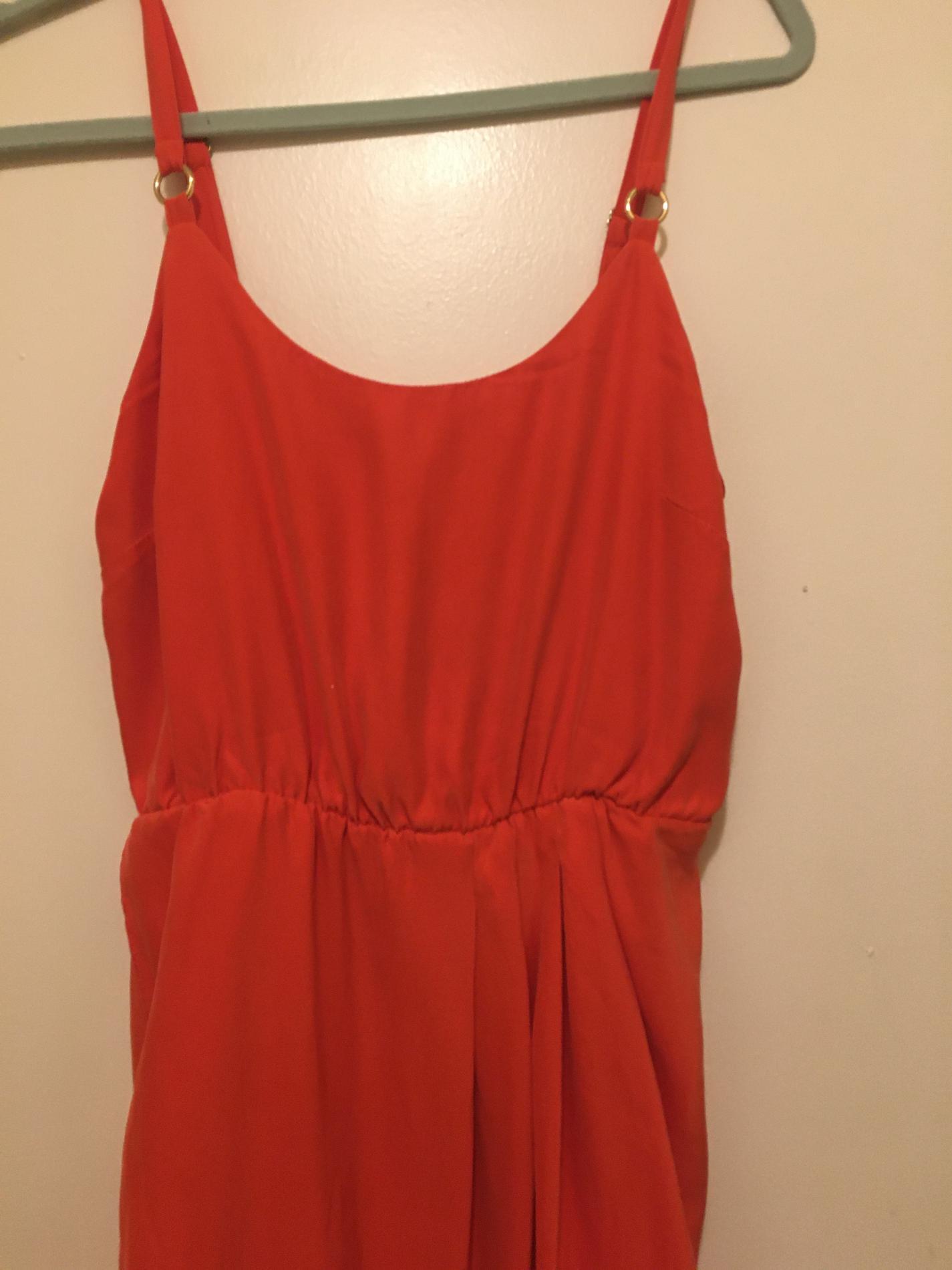 Amanda uprichard Orange Size 6 Silk Cocktail Dress on Queenly