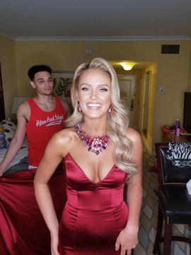 Sherri Hill Red Size 4 Mermaid Dress on Queenly