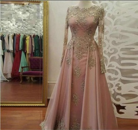 Queenly size 16  Pink Mermaid evening gown/formal dress