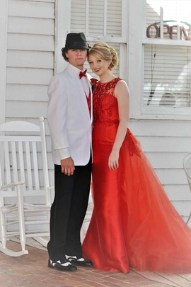 Sherri Hill Red Size 2 Mermaid Train Dress on Queenly