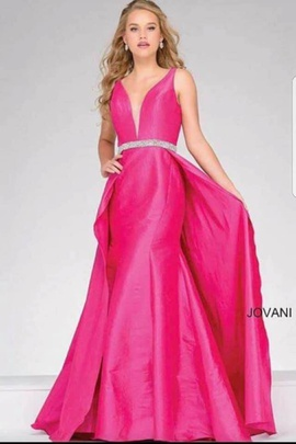 Queenly size 2 Jovani Pink  evening gown/formal dress