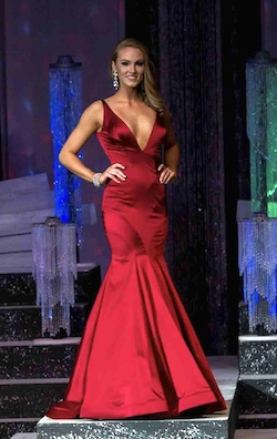 Sherri Hill Red Size 4 Prom Plunge Silk Mermaid Dress on Queenly