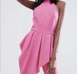 Pink Size 6 Romper/Jumpsuit Dress on Queenly