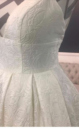 Sherri Hill White Size 0 Wedding Corset Prom Ball gown on Queenly